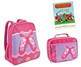 Stephen Joseph Go Go Backpack, Lunch Box, & Coloring Book, Ballet (2016)