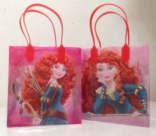 Disney Princess Brave Party Favor Goodie Small Gift Bags 12