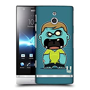 Head Case Designs Bully Chombies Hard Back Case Cover for Sony Xperia P LT22i