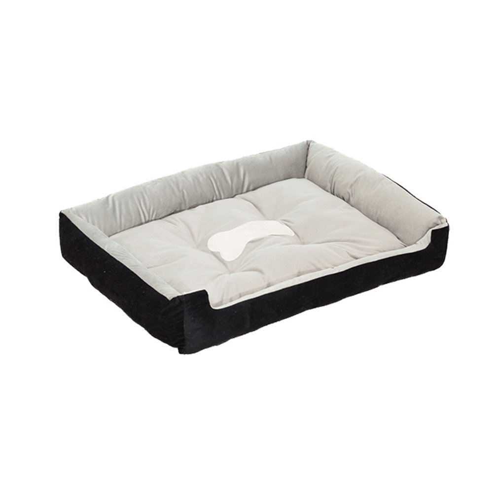BLACK SQQ Doghouse Pet Nest Large and Medium Kennells Dog Bed Dog Dog Cushion Cat Nest Sleeping Dog Supplies (Colore: Brown, Dimensione: XS)