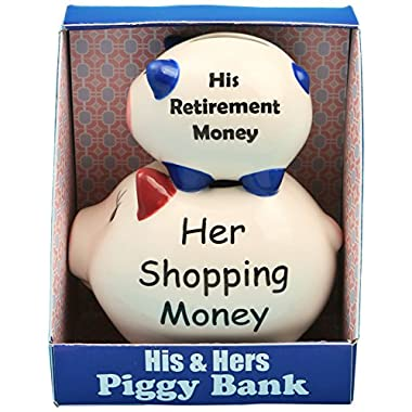 Fashioncraft His and Hers Piggy Bank