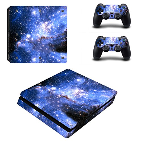 uushop-ps4-slim-vinyl-skin-decal-cover-for-sony-playstation-4-slim-ps4-console-sticker-blue-starry-s