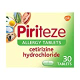 Piriteze Antihistamine Allergy Relief Tablets,...