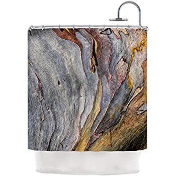Kess InHouse Susan Sanders Milky Wood Shower Curtain 69 X 70