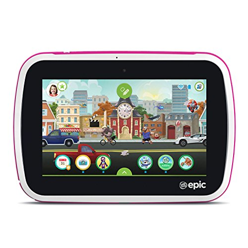 LeapFrog Epic Academy Edition 7'' Android 2.0 Based Kids Tablet 16GB with Carrying Case, Pink by LeapFrog (Image #2)