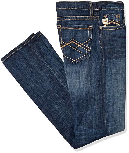 Cinch Men's Grant Relaxed Fit Jean, Performance Winter Blue, 36 x34 (Cinch Relaxed Fit Jeans)