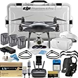 DJI Phantom 4 Pro Obsidian Quadcopter Executive FPV Bundle