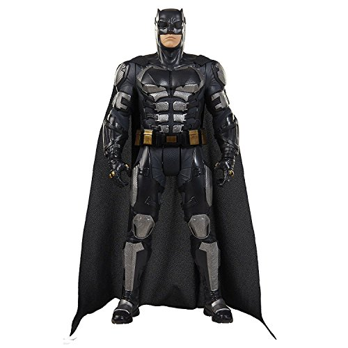 Jakks Pacific Big-Figs Justice League Batman Tactical Suit, 19 inch, 9 pieces