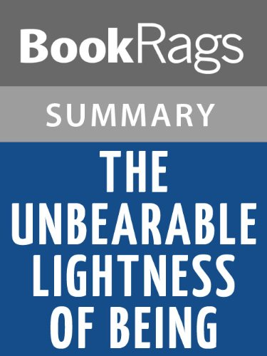 Amazon summary study guide the unbearable lightness of being summary study guide the unbearable lightness of being by milan kundera by bookrags fandeluxe Image collections