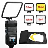 Viltrox Flash Reflector Flash Diffuser Kit Color Black