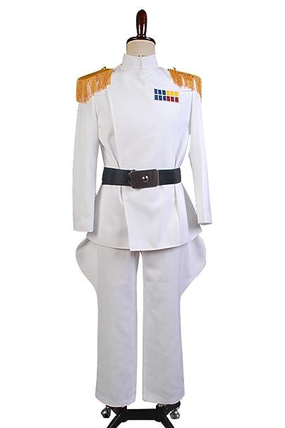 Star Wars Oficial Imperial White Grand Almirante del Traje ...
