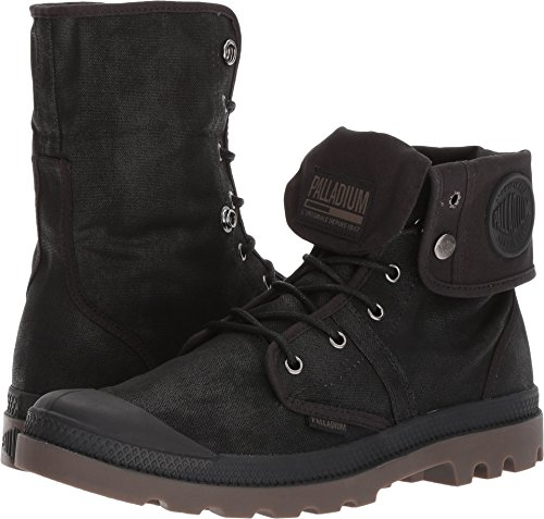 Palladium Unisex Pallabrouse BGY Wax Black/Dark Gum Athletic - Shops Palladium