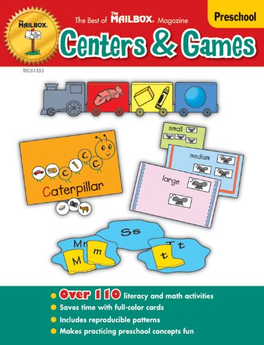 The Best of The Mailbox® Centers & Games  Preschool