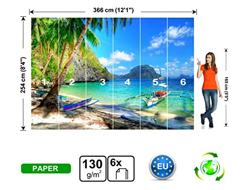 Wall Poster Luxury tropical resort Wall Print Wall Mural Wall Decal Wall Tapestry by Premium Murals Shop (Image #3)