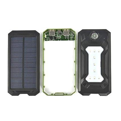 Batería Externa Solar 20000mAh Cargador Solar, Cargador ...