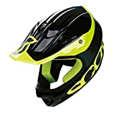 Scott Spartan Full-Face Helmet Black/Yellow, M Review
