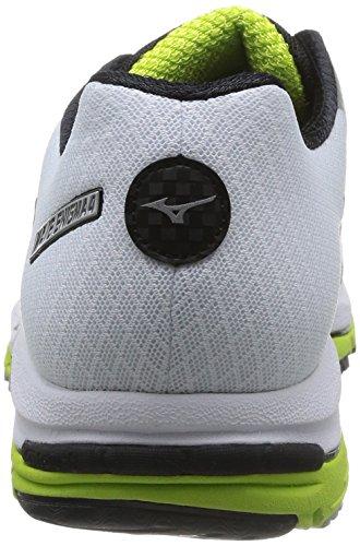 Mizuno Wave Enigma 4 - Zapatos para hombre White (White/Black/Green Glow)