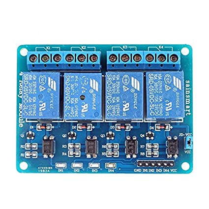 Amazoncom SainSmart 4Channel Relay Module Cell Phones Accessories