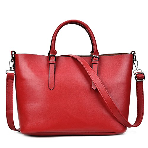 Ladies And Big Shoulder Handbags Bag Trend United Red States Fashion Korean Europe Bag New The Casual Bag Wild wtZqF