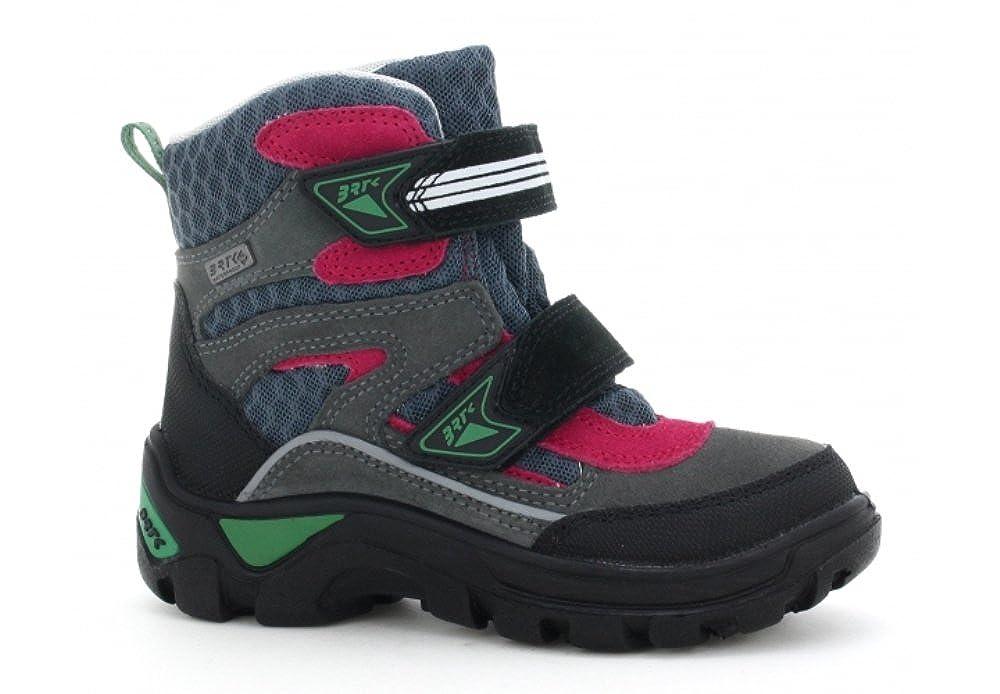 Little Kids//Big Kids Bartek Boys Waterproof Snow Ankle Boots for Winter 94673//C27 Grey w//Red