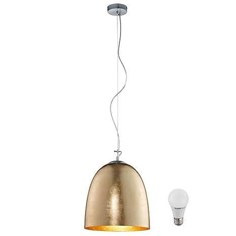 Lámpara de techo LED 7 Watt fábrica de vidrio opalino ...
