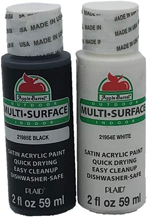 Top 9 Apple Barrel Black And White Acrilic Paint