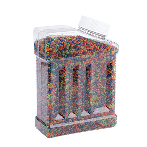 - T-best Crystal Soft Bullet,40000pcs Crystal Water Beads Water Bullet Balls Clear Vase Filler Bottle Pack Bead for Water Gun Children Toy,Plants,Wedding and Party Decoration(Mixed)
