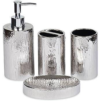 delicate Decorative Bathroom Accessories Set