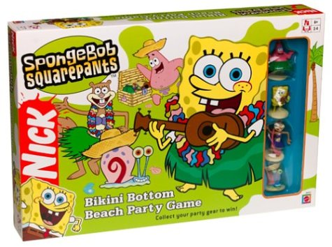 (SpongeBob Square Pants Bikini Bottom Beach Party Game)