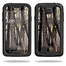 Mightyskins Protective Vinyl Skin Decal Cover for LifeProof Samsung Galaxy S4 Case fre wrap sticker skins Tree Camo