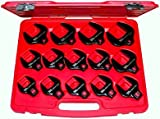 14Pc. Metric 1/2''Dr. Open End Crowsfoot Wrench