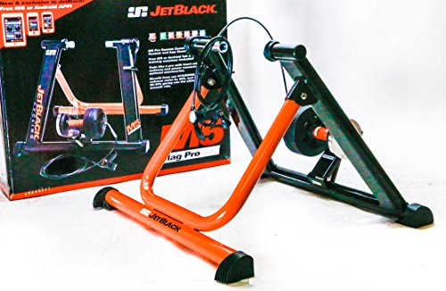 jet black cycling trainer - 5