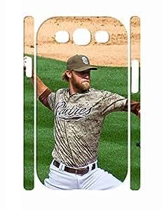 Custom Sports Man Shot Anti Slip Phone Cover for Samsung Galaxy S3 I9300
