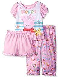 Peppa Pig girls Toddler Girls Peppa Pig 3pc Set