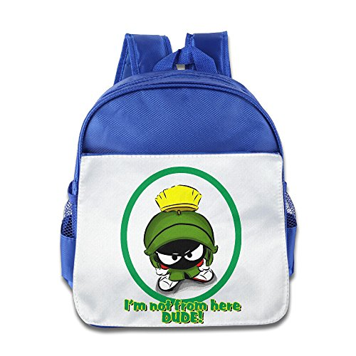 Fennessy Custom Cool The Martian Boys And Girls Shoulders Bag For 1-6 Years Old RoyalBlue