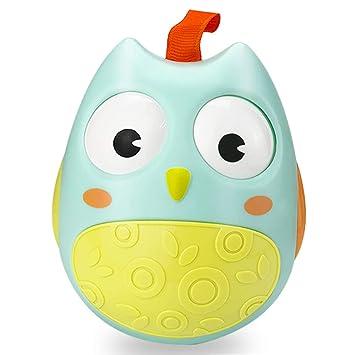 Kimy Autistic Fun Toys for 3-12 Month Old Baby Boys Girls, Owl Tumbler Amazon.com: