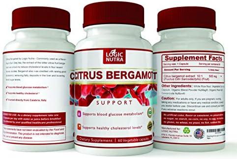 Bergamot Logic Nutra Cholesterol Cardiovascular product image