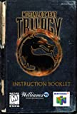 Mortal Kombat Trilogy N64 Instruction Booklet (Nintendo 64 Manual Only) (Nintendo 64 Manual)
