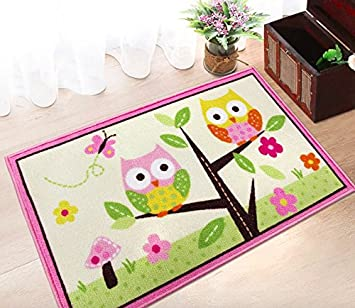 Kids Bedroom Doormats Bath Rugs Pink Kids Rug For Girl Living Room Kids Rug  Owl Doormats