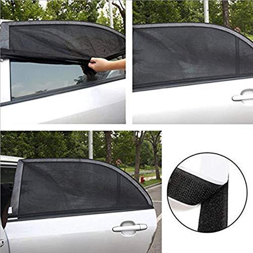 Car Sun Shade UV Protection Car Curtain Car Window Sunshade Side Window Mesh Sun Visor Summer Protection Window Film ()