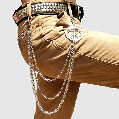 Catena per Catenine moda uomo jeans e tripla in donna a casual a Pantaloni portafoglio vrqrEX