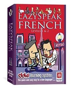 Eazyspeak French Levels 1 and 2 (PC & Mac)