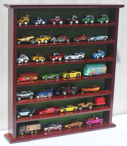 1:64 Scale Toy Cars Wheels Matchbox 1/64 Scale Display Case Stand, NO Door, Hot-GB20-MAH ()