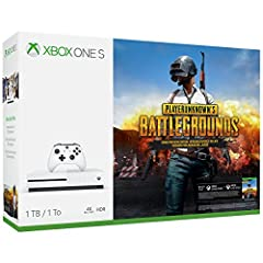 Own the Xbox One S PLAYERUNKNOWN'S BATTLEGROUNDS Bundle, featuring a full-game download, 4K Ultra HD Blu-ray, 4K video streaming, High Dynamic Range, premium audio, and an Xbox Wireless Controller. Parachute onto a massive remote island with ...