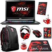 MSI GE73VR Raider-003 (i7-7700HQ, 32GB RAM, 1TB SATA SSD + 512GB SATA SSD + 1TB HDD, NVIDIA GTX 1070 8GB, 17.3 Full HD 120Hz 5ms, Windows 10 Pro) VR Ready Gaming Notebook
