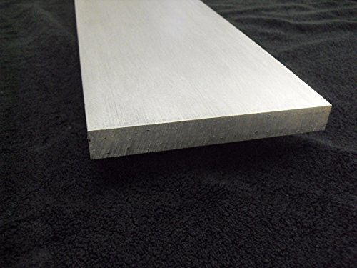 1/4'' Aluminum 12'' x 72'' Bar Sheet Plate 6061-T6 Mill Finish by TNT Metals