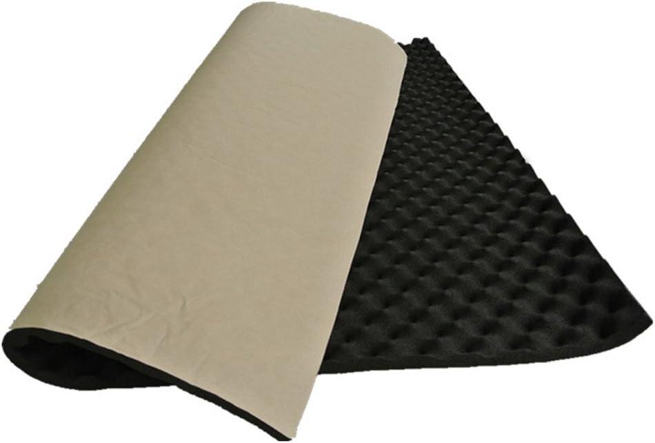 Mintice/™ 2 X Silencieux Manteau Absorbeur de son 20mm Mousse acoustique Imperm/éabilisation de voiture 50cm x 50cm