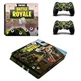 New PS4 Vinyl Skin Sticker Cover for Playstation 4 System Console and Controllers- Fortnite Battle Royal Review