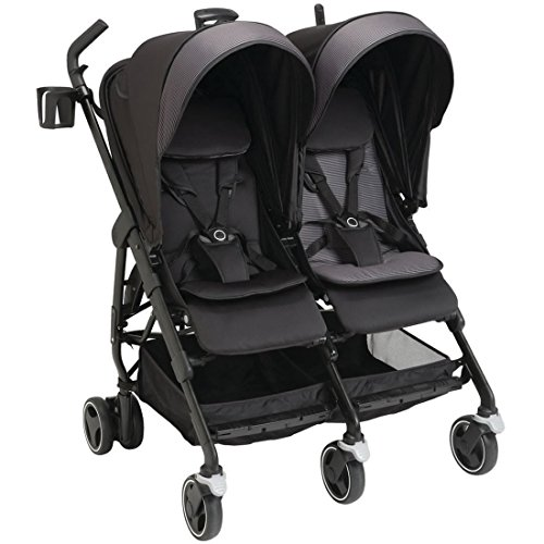 Maxi Cosi Dana For2 Double Stroller with Rainshield - Devote