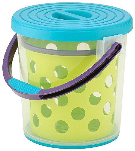 [해외]イノマタ 화학 물통 다용도 스플래시 10 블루 및 그린 / Innomata Chemical Bucket Multipurpose splash 10 Blue & Green